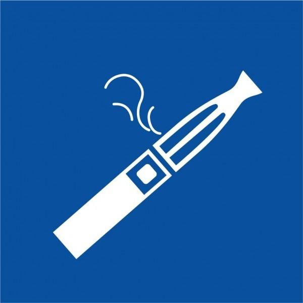 Pictogramme E-Cigarette pour Zone Fumeur