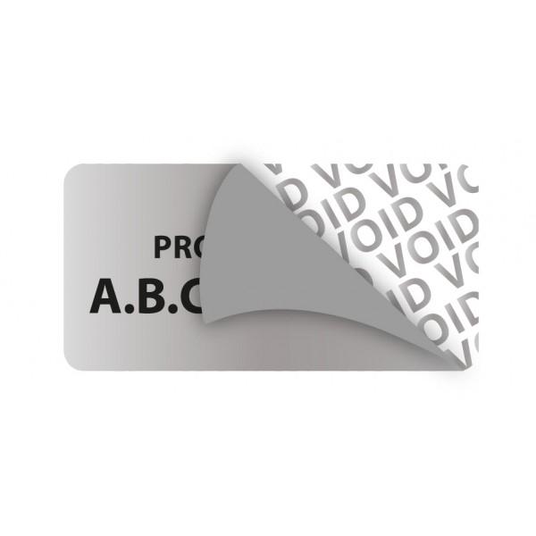 Étiquette de Propriété Infalsifiable SECURETIK Personnalisable