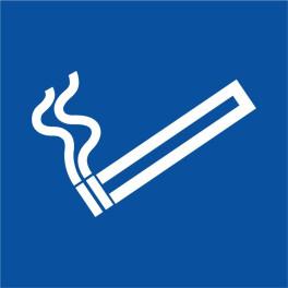Pictogramme Cigarette pour Zone Fumeur