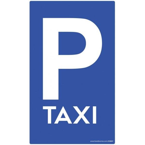 """Panneau de Parking """"TAXI"""""""