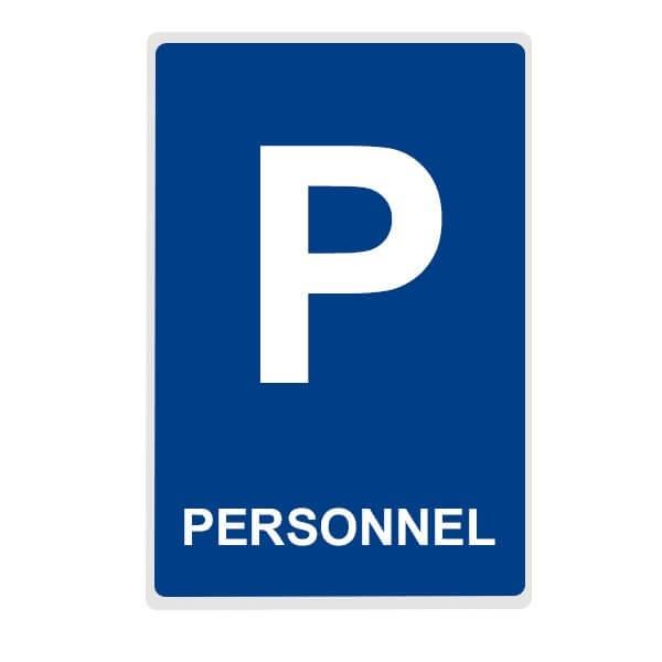 """Panneau de Parking """"PERSONNEL"""""""