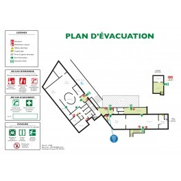 Plan d'Évacuation sur Mesure