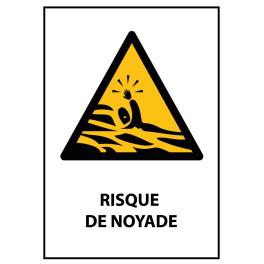 """Panneau """"Risque de Noyade"""""""