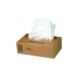 Lot de 10 sacs récupérateurs pour destructeur de documents - 30 / 35 L
