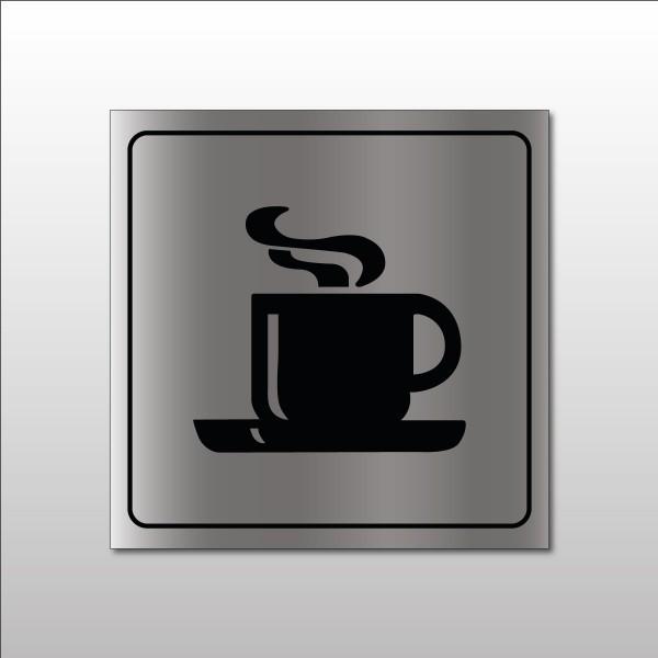 """Pictogramme """"Cafétéria"""" en Metallex"""