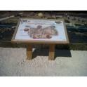 Pupitre table de lecture extérieur