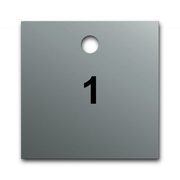 Marqueurs de Vannes en Aluminium Pré-numérotés
