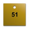 Marqueurs de Vannes en Laiton Pré-numérotés