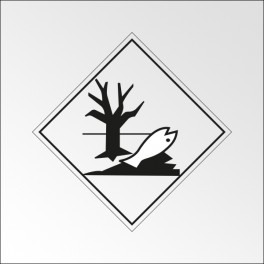 """Signalisation de transport normalisée ADR - """"Dangereux pour l'environnement"""""""