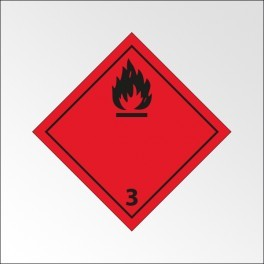 """[ATTENTE VISUELS] Signalisation de transport normalisée ADR - """"Liquides inflammables"""""""