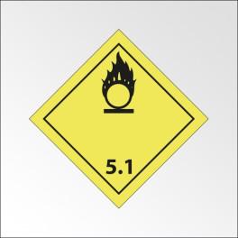 "[ATTENTE VISUELS] Signalisation de transport normalisée ADR - ""Matières comburantes"""