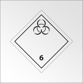"""Signalisation de transport normalisée ADR - """"Matières infectieuses"""""""