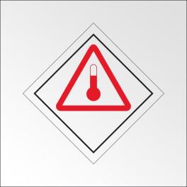 """[ATTENTE VISUELS] Signalisation de transport normalisée ADR - """"Produits chauds"""""""