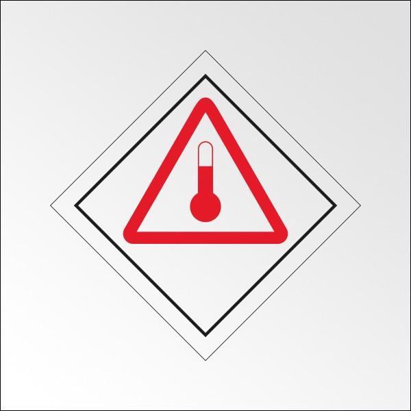 """Signalisation de transport normalisée ADR - """"Produits chauds"""""""