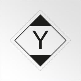 """Signalisation de transport normalisée ADR - """"Quantité limitée LQY11"""""""