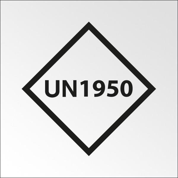 """Signalisation de transport normalisée - """"UN..."""" - Vinyle adhésif - 100 x 100 mm"""