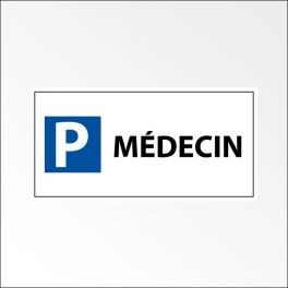 "Kit panneau de parking ""P MEDECIN"""
