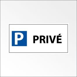 "Kit panneau de parking ""P PRIVE"""