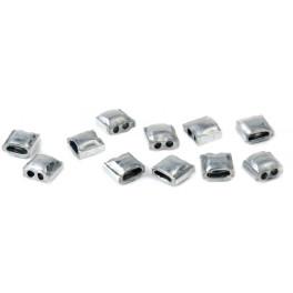 Lot de 1000 plombs à sceller en aluminium
