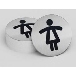Plaque de porte Toilettes Dames