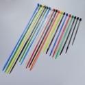 Lot de 100 colliers de serrage en nylon - 4,5 mm de large