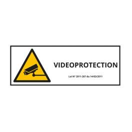 """Panneau d'information """"Vidéo-Protection"""""""