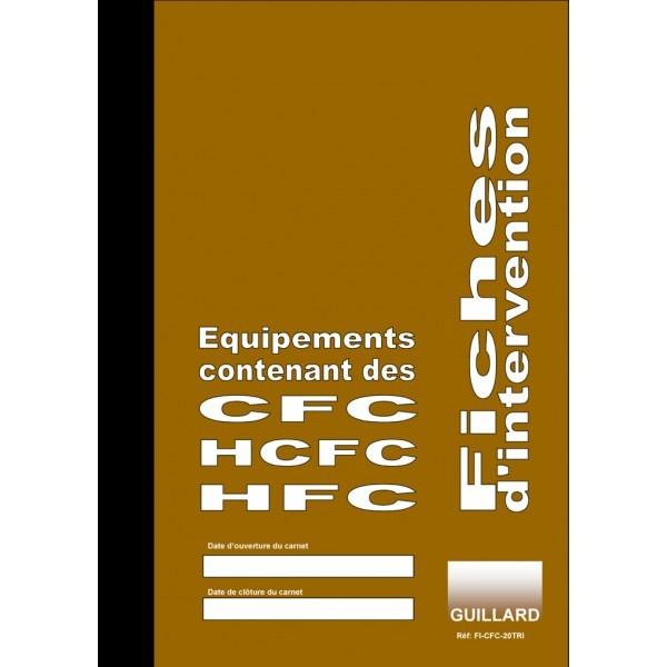 Fiches d'intervention sur circuit de froid climatisation pompe à chaleur