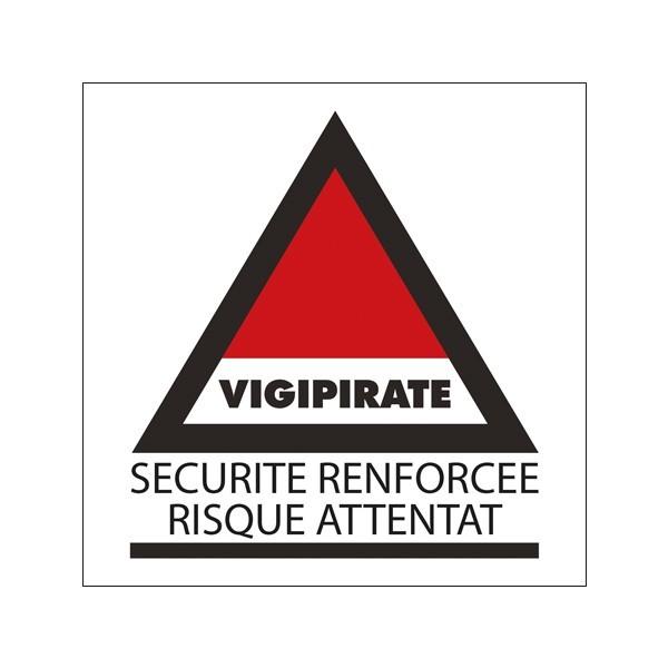 """Panneau d'information """"Vigipirate"""""""