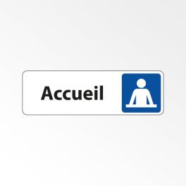 """Panneau Signalétique """"Accueil"""""""
