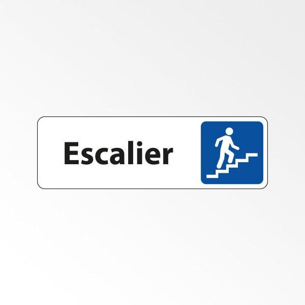 """Panneau Signalétique """"Escalier"""""""