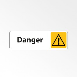 """Panneau Signalétique """"Danger"""""""