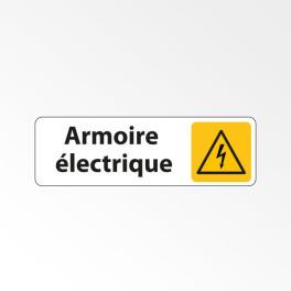 """Panneau Signalétique """"Armoire électrique"""""""