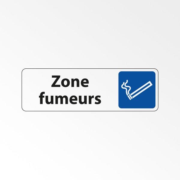 """Panneau Signalétique """"Zone fumeurs"""""""