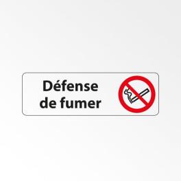 """Panneau Signalétique """"Défense de fumer"""""""