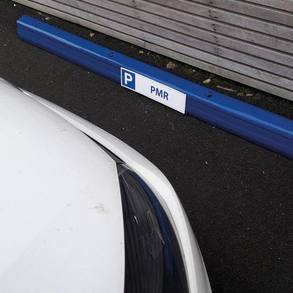Butée de parking 1830 mm blanc