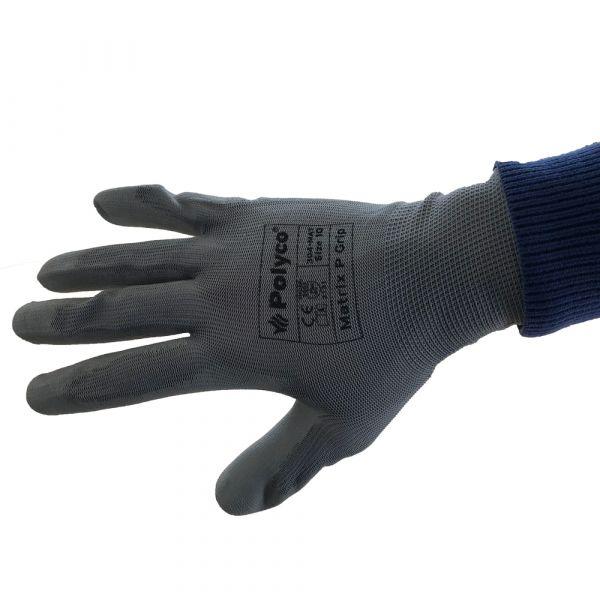Gants de manutention Matrix P Grip gris ou noir