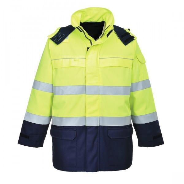 Veste de protection contre les arcs électriques Jaune taille L ou XL
