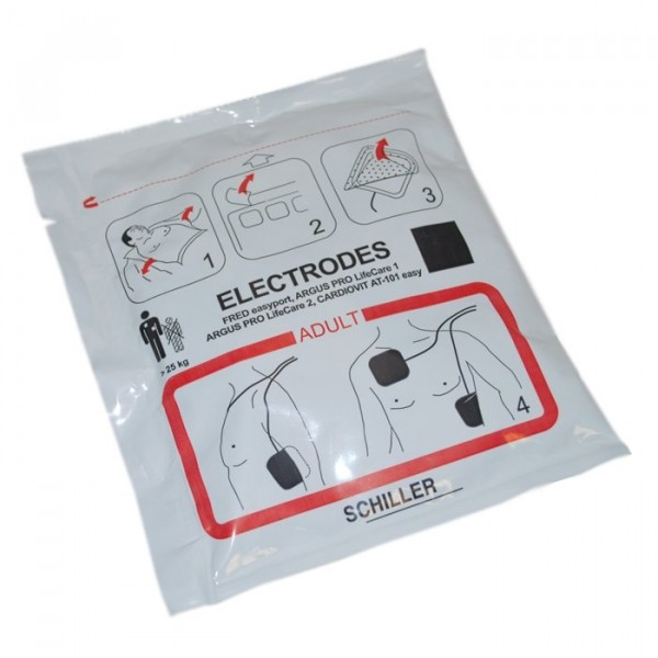 Electrodes FRED PA 1 Adulte