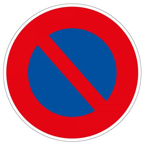 Panneau de Prescription B6a1 Plat : Stationnement Interdit
