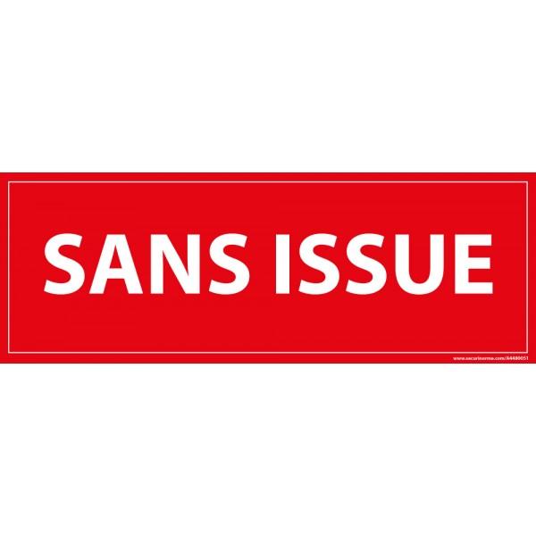 "Signalisation ""Sans issue"""