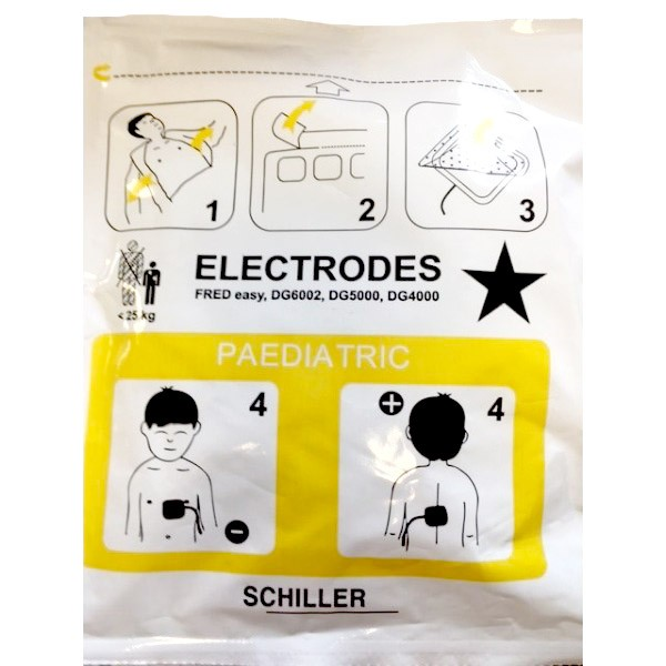 Electrodes FRED Easylife Enfant