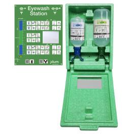 Coffret de Rinçage des Yeux DUO avec Solution Neutre et Solution Saline - PLUM