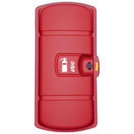 Coffret Rouge pour extincteur de 6 kg/6L ou 2 kg CO2