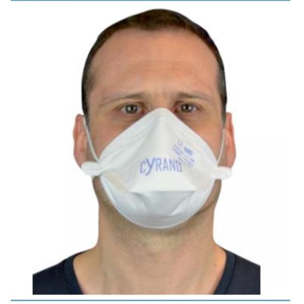 Lot de 25 masques anti-poussières FFP3 pliables - sans valve