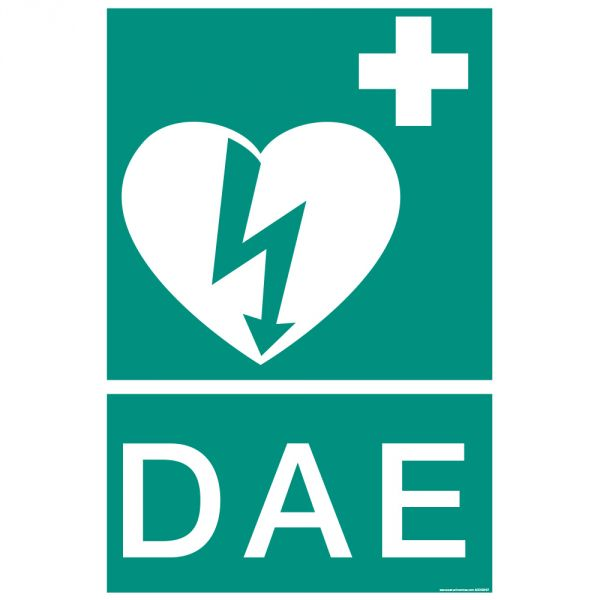 Panneau rectangulaire ISO EN 7010 DAE E010