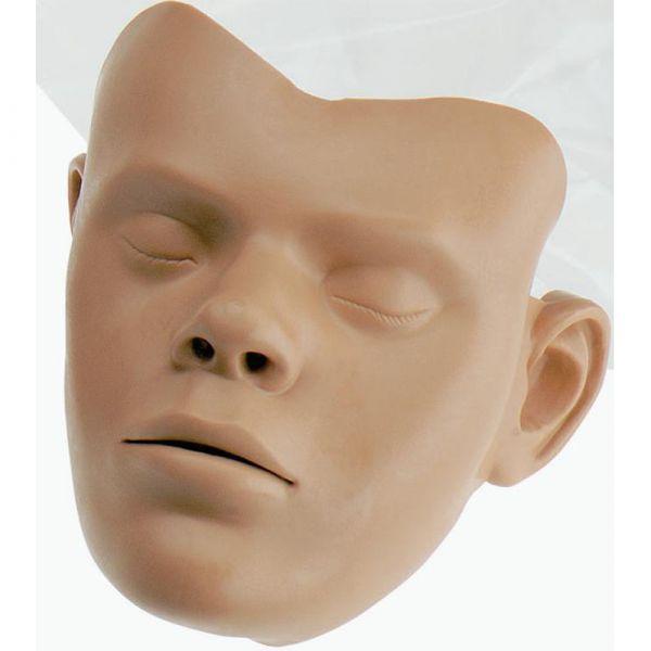 Lot de 5 peaux de visage pour mannequin modulaire évolutif