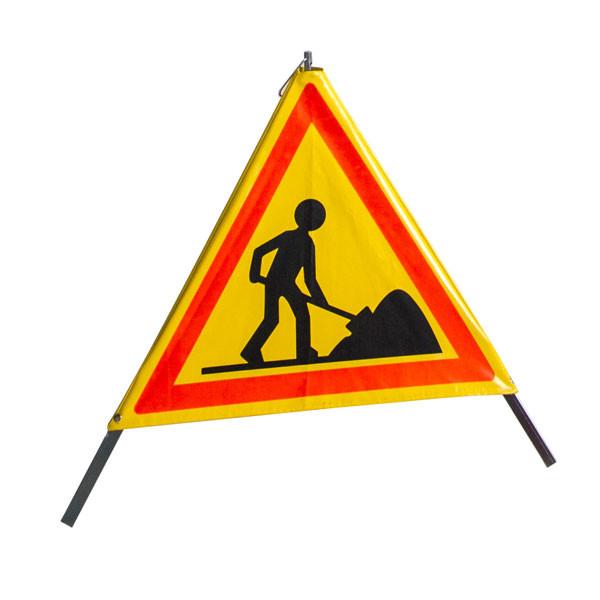 Tripode pliable signalisation de chantier