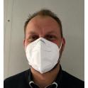 Masque jetable facial KN95 type FFP2 par lot de 50
