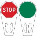 Raquette à main de signalisation