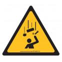 Panneaux et autocollants NF EN 7010 - Chute d'objets - W035